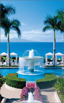Master chef Wolfgang Puck names the Four Seasons Resort in Maui as his favorite vacation spot.