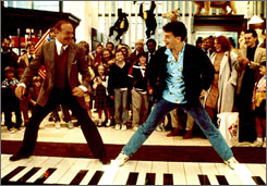 "The 16-foot piano Tom Hanks played in his 1988 film ""Big"" will be on display next month at the Philadelphia  Please Touch Museum."