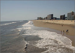 Virginia Beach: A surf camp vacation here is one of the top prizes in a contest for Virginia tourism.