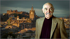Sean Connery stars in a tourism campaign aimed at expatriate Scots around the world.