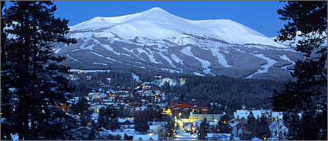 Breckenridge attracts more skiers and snowboarders annually than any other mountain.