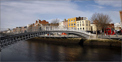 Dublin is one of Europe's most compact capitals, with plenty to see and do by foot.