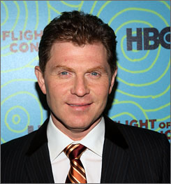 Celebrity chef Bobby Flay will host a luncheon and a buger demo at the Charleston Food + Wine Festival.