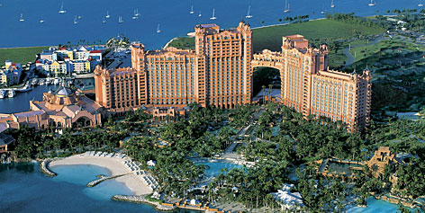 Paradise Island, Bahamas: Singer-songwriter Jewel names The Cove at Atlantis Resort, where she got married in 2008 to rodeo star Ty Murray, as her favorite vacation spot.