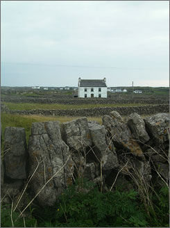 Most of Inis Mor's landscape is preserved by law and it has lost few of its wild charms.