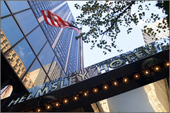 """We don?t pay taxes"": And neither will you at Leona Helmsley's namesake hotel on April 15."