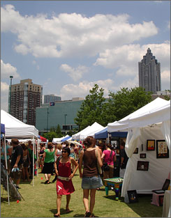 Atlanta: The Indie Craft Experience aims for a hipper vibe than more traditional fairs. It's May 30-31 this year.