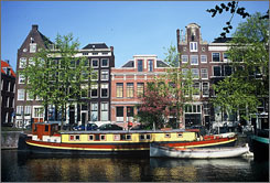 You can see canal houses in Amsterdam  and also visit Berlin and Prague  for $1,999 with the Train Trio package from Austrian Air Vacations.