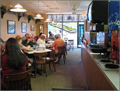 Las Palmas Cafe: Traditional, hearty Cuban fare is a staple in this no-frills, family-run eatery.