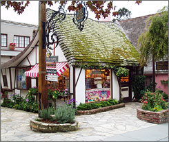 So cute you could eat it up: Cottage of Sweets in Carmel, Calif., sells a huge assortment of licorice and rarer European candies.