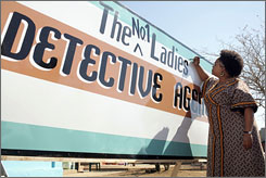 Jill Scott stars in HBO's The No. 1 Ladies' Detective Agency, which is set and filmed in Botswana.