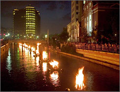 One of the most popular arts events in New England, WaterFire routinely draws tens of thousands.