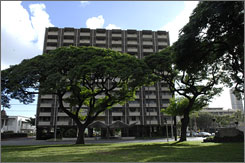 The Honolulu building where Barack Obama grew up is the first childhood home of a U.S. president that's a high-rise rental.