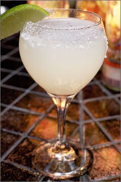 In New York: A margarita at Mayahuel, which opens officially tonight.