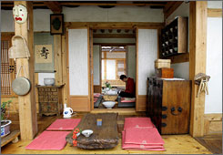 Tea Guest House is one of the traditional guesthouses found in Bukchon, one of the last surviving old-style areas of Seoul.