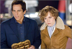 Ben Stiller and Amy Adams star in Night at the Museum: Battle of the Smithsonian.  Much of the movie is set at the National Air and Space Museum, though it also features artworks and treasures from other sites on the National Mall.
