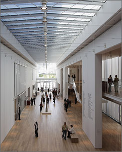 The $300 million, 264,000-square-foot wing turns Chicago's art museum into the nation's second-largest.