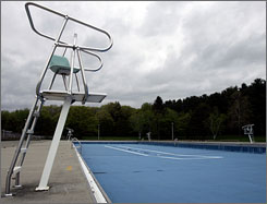 At Saratoga Spa State Park in New York, the Peerless swimming pool will be closed on Tuesdays, the day when it usually gets the fewest visitors.