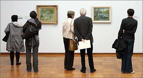 Seventy of Van Gogh's landscapes are on display at Basel's distinguished Kunstmuseum.