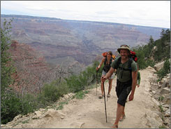 Rangers at the Grand Canyon perform more rescues than at any other park. Hikers who come prepared with snacks and water and who pace themselves fare the best.