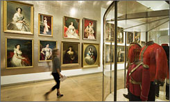 The Hermitage Amsterdam, an outpost of the famed Russian museum, is opening Friday with an exhibition of more than 1,800 items on loan from the Winter Palace in St. Petersburg.
