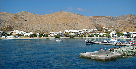 Greece's Folegandros island has no airport or deep-water port, and is reachable only by passenger ferries.