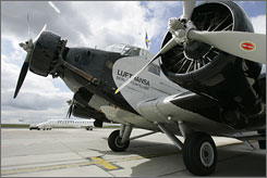 Fares for flights on the antique plane range from $93 to $415.