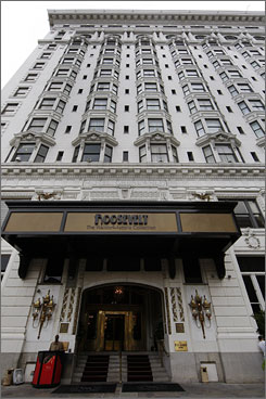 The reopening of the Roosevelt gives New Orleans about 34,000 hotel rooms, still shy of the 39,500 in use before Katrina struck.