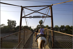 The horseback tour starts with a 90-minute ride up one of the hills in Griffith Park, where you'll also find hiking trails and Griffith Observatory.