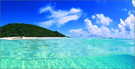 Buck Island, St. Croix: The lush island is home to Buck Island Reef National Monument. Much of the U.S. Virgin Islands and their waters is protected as national parks.