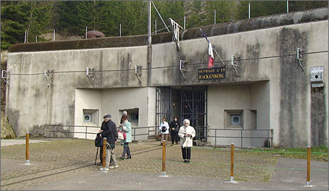Massive concrete construction helped preserve the fortresses of the Maginot Line, which was built in the 1930s along France's border with Germany.
