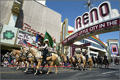 To the rescue: Reno rallying fans on Facebook, Twitter, website.