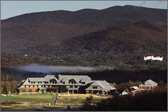 The Highland Lodge in Crawford Notch, N.H., is participating in the Appalachian Mountain Club's discount program.