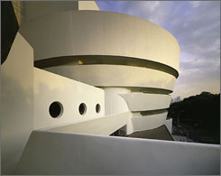 The Guggenheim Museum in New York City is waiving its $18 admission fee all day Wednesday.