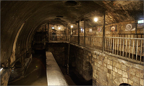 Fans of The Third Man can descend into the sewers of Vienna to see where the movie was filmed.
