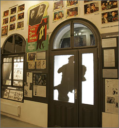 A private museum is crammed with photos, posters and other paraphernalia related to the movie.