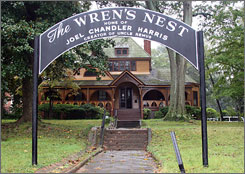 The Wren's Nest museum in Atlanta nearly closed a few years ago but has been revived by Joel Chandler Harris' great-great-great grandson.