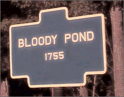 In Lake George, N.Y.: Bloody Pond Road teems with accounts of ghost sightings and just plain creepy vibes.
