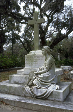 Bonaventure Cemetery is  one of the most photographed cemeteries in the country.