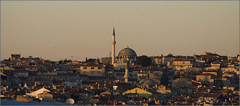 B. Smith fell in love with Istanbul during a recent trip around the world.
