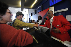 Better service: This year Delta brought back its Red Coats, customer service agents who help passengers with everything from printing boarding passes to getting to the right gate.
