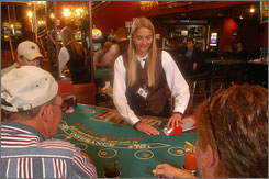 Deadwood's casinos are only allowed to offer slot machines and card games, and bets in South Dakota may not exceed $100.