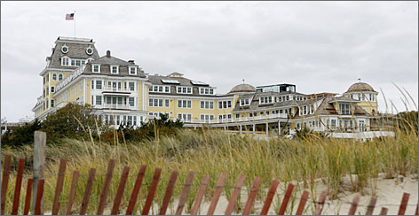 A group of sentimentally attached investors is taking a $140 million gamble, building an upscale replica of the historic Ocean House in Westerly, R.I.