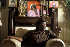 "One of the performers to be featured in a new series by the St. Louis Rhythm & Blues Preservation Society is Big George Brock: ""If anybody just sits down and listens to the blues, they'll find the blues ain't nothing but the truth."""
