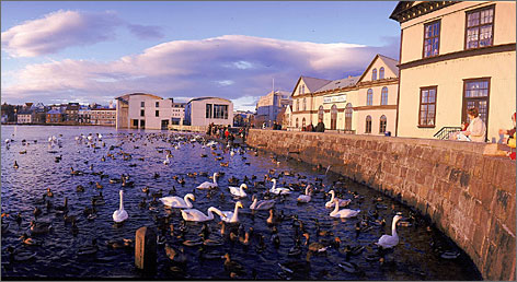 Iceland Air is offering a two-night getaway to Reykjavik starting at $469 per person. Travelers can extend their stay for $45 per night.