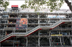 The Pompidou Centre, Musee D'Orsay and other popular Paris attractions were closed Wednesday after museum workers went on strike.