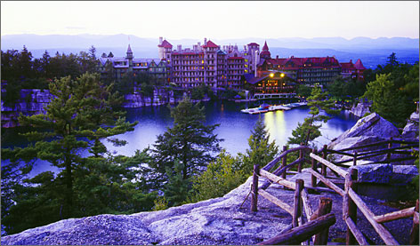 In New Paltz, N.Y.: Guests at Mohonk Mountain House are invited to put their heads together to solve dramatized mysteries at the Hudson Valley resort. Outdoor and themed activities abound, too.