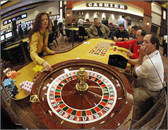 The new Boot Hill Casino and Resort in Dodge City, Kan., opened with 20,000 square feet of gambling space, along with a bar, a restaurant and a snack bar.