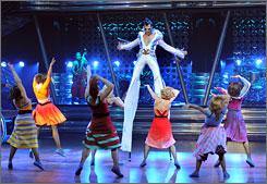 In Las Vegas: Cirque du Soleil mixes the King's music with its trademark acrobatics in Viva ELVIS at Aria Resort & Casino.