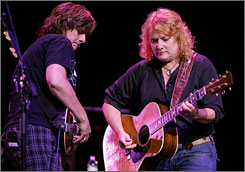 The Indigo Girls: Amy Ray, left, and Emily Saliers will perform at the 30A Songwriters Festival.